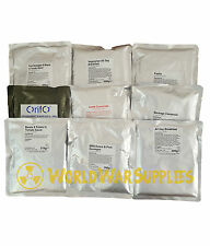 British Army Ration Packs MOD DOFE MRE- Main Meals. camping, hiking, expeditions