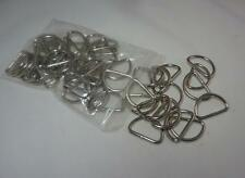3/8 inch D Rings 1.5 mm  Metal Dee Rings Webbing Strapping