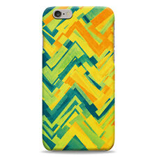 Full Wrap Hard Case Cover Protector For iPhone – Abstract Colour Wave