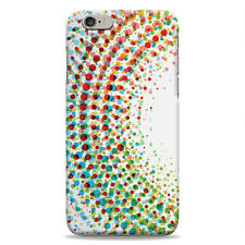 Full Wrap Hard Case Cover Protector For iPhone – Paint Splodge Circle