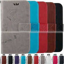 Luxury Protective Wallet Card Flip Stand PU Leather Case Cover Back For Apple