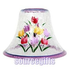 NEW GLASS SHADE FOR LARGE VILLAGE AND YANKEE SCENTED CANDLE JARS WITH FREE POST