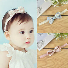NEW Baby Girls Headband Infant Toddler Bowknot Hair Band Headwear Hair Accessory
