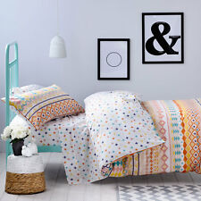 """ADAIRS """"FRANKIE"""" QUILT COVER SET-CHOICE OF SINGLE/DOUBLE /QUEEN"""