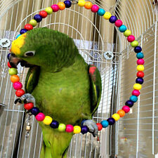 Pet Cockatiel Budgie Bird Swing Cockatoo Chew Parakeet Toys Bite Parrot