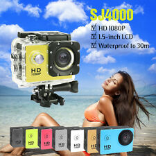 SJ4000 Full HD Waterproof Sports DV 720p Action Camera Helmet Bike Car Camcorder
