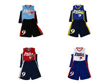 BOYS BASKETBALL KIDS VEST BaseBall TOP & SHORTS SUMMER SET KIT 3-13 YEARS BNWT