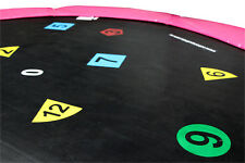 8ft Printed Trampoline Mat (48 Spring) - 2 Year Warranty - Free Delivery