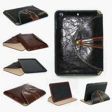 Luxury PU Leather 360 Rotating Stand Case Cover For Apple iPad 234 / mini 123