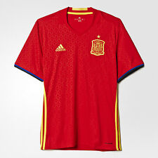 Spain Euro 2016 Football Shirt Soccer Jerseys Official Adidas Espana ALL SIZES
