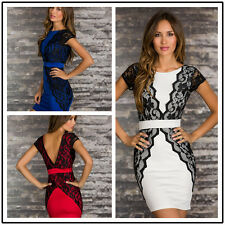 Fashion Women Backless Career Office Dress  Decoration Lady Sexy Mini Dresses
