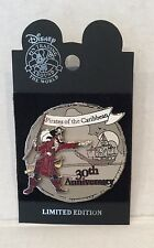 Disney  WDW - Pirates of the Caribbean 30th Anniversary 3D LE Pin  NOC