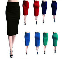 Women Office Sexy Dress Package Hip Skirt Step Skirt Below-knee Skirt Slim