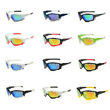 Cycling Bicycle Bike Sport UV 400 3 Lens Protection Goggle Sun Glasses   WS