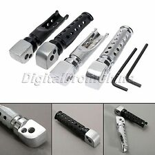 1Pair Motorcycle Rear Foot Pegs Footrest For Yamaha FZR 600 YZF 600R FZ-1 YZF-R1