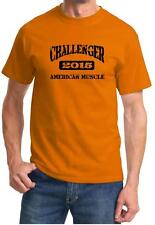 2015 Dodge Challenger American Muscle Car Classic Design Tshirt NEW
