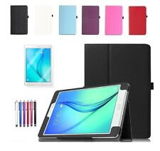 """UK New Smart Leather Stand Case Cover For Samsung Galaxy Tab E 9.6"""" SM-T560/T565"""