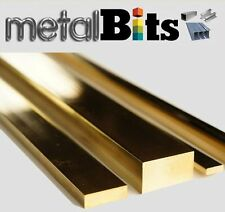 Brass Flat bar CZ121 (Various sizes available) Imperial