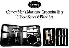 Men's Grooming Manicure Set - Comoy 13 Piece or Comoy 6 Piece Grooming Kits.