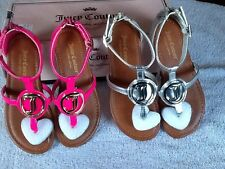 Juicy Couture Girls Sandals/ Sizes: , 13/ NWB