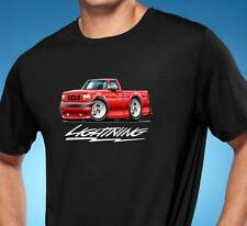 1993 1994 1995 Ford SVT Lightning F150 Truck Cartoon Tshirt NEW FREE SHIPPING