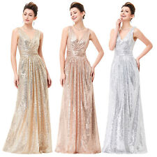 Sexy Silver Sequins Mermaid Evening Dress Strapless Formal Wedding Pageant Gown