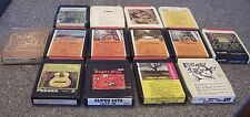 Lot of 14 Country 8-track Tapes, McCall, Pride, Stewart, etc.