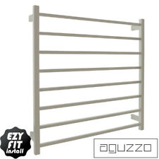 Heated Towel Rail Polished Stainless Steel Square Tube (W900mmxH920mm)