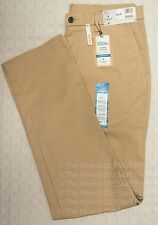 NWT HAGGAR Men's Slacks Casual Pants Flex Waist Wrinkle Free Straight Sz 34 x 34