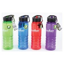 Summit 700ml Tritan Sports Water Bottle with Folding Straw  camping travel