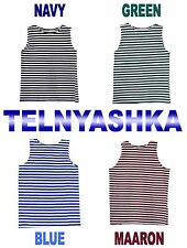 Soviet Russian NAVY Naval TELNYASHKA Frock Striped SHIRT SAILOR'S singlet VDV
