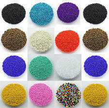 1000Pcs Czech Glass Seed Round Loose Spacer Beads Cfaft Jewelry Making DIY 2.0MM