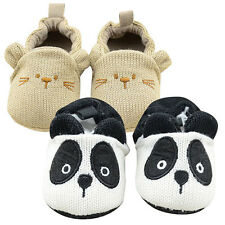 New Infant Baby Soft Sole Nonslip Toddler Shoes Panda Footwear Nobby