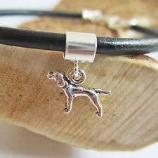Pointer Mini Sterling Silver European-Style Charm and Bracelet- Free Shipping