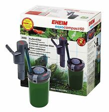 EHEIM* Aquacompact 40,60*External canister filter for small aquariums*UK PLUG