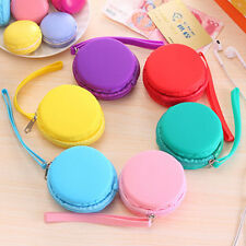 1X Women Purse Macaron Silicone Waterproof Wallet Pouch Coin Bag Girl Gift Fad