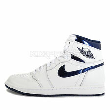 Nike Air Jordan 1 Retro High OG [555088-106] Basketball White/Midnight Navy