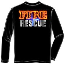Fire Rescue FIREFIGHTER Fireman New T-Shirt FF2061LS