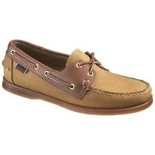 NEW Mens SEBAGO Tan Leather SPINNAKER Boat Shoes B72831