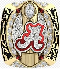 2015 2016 Alabama Crimson Tide Football National Championship Ring 8-14Size