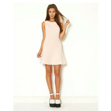 Ginger Fizz ASOS Sweet On You party Skater Dress Pale Pink GF13998 Size XS - L