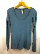 Alternative Earth Long Sleeve Organic Cotton Round Neck Shirt NWOT