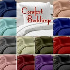 1000Tc New Brand 100%Egyptian Cotton 3pc Duvet Set Collection In ALL Size & Col