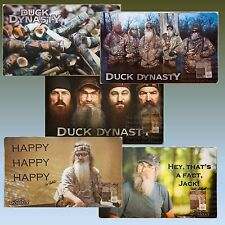 DUCK DYNASTY Floor Mat WILLIE PHIL JASE SI Beards Happy Fact Jack Robertson Call