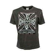West Coast Choppers Hand Built Mens Basic Tee For Motorcycle Chopper Riders