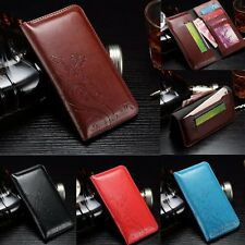 Luxury Leather Wallet Card Photo Slot Cover Case For Samsung Galaxy Note 2 3 4 5