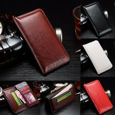 Luxury Magnetic Leather Wallet Photo Card Slot Case Cover For Sony Xperia Series
