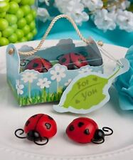 Set of 6 Ladybug Ladybird Magnet Favors Baby Shower Christening Favors Gifts