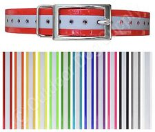 New Replacement Collar Strap for Garmin DC50 DC-50 Reflective Dayglo with Ring