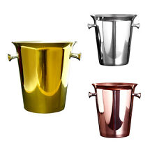 European New Champagne Wine Beer Drinks Copper Ice Bucket Chiller Kitchen